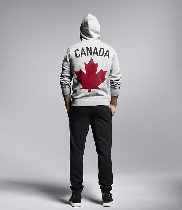 Hudson's Bay Team Canada Collection is shown on April 12, 2016. HUDSON'S BAY.