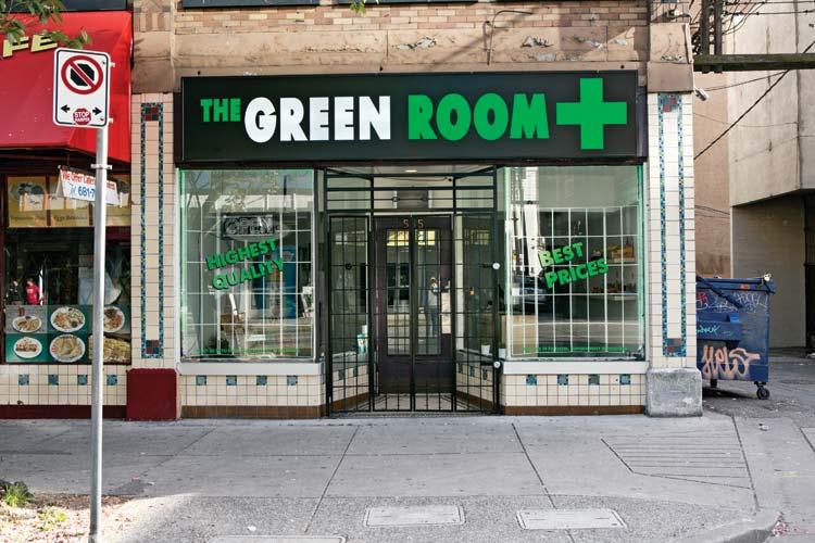 The Green Room Dispensary Toronto