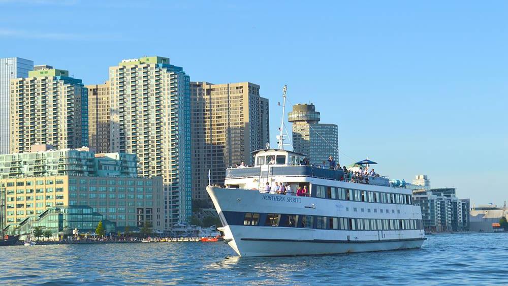 Mariposa Cruises' Northern Spirit boat. Photo via facebook.com/mariposa.cruises.