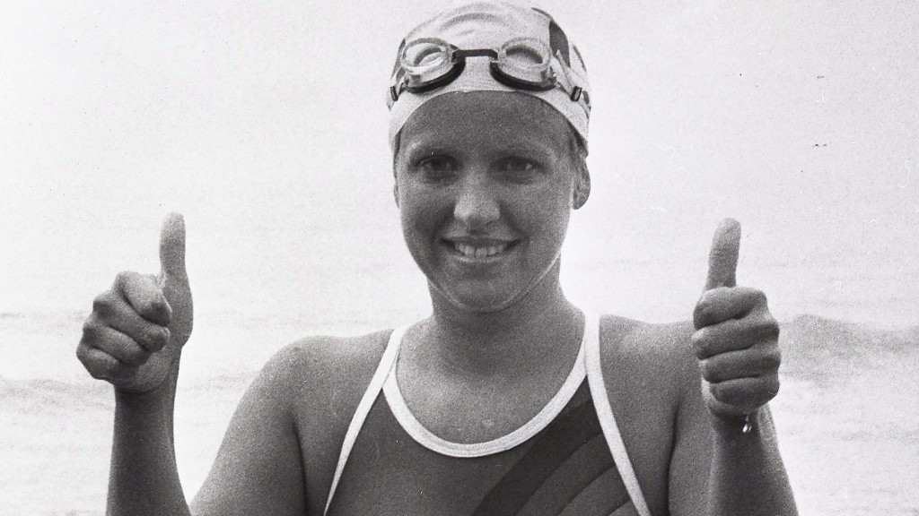 Swimmer Cindy Nicholas, of Toronto, is seen in this undated file photo. Nicholas, one of the greats of marathon swimming who was once known as Queen of the Channel, has died from liver failure. She was 58. The Toronto athlete, who became a lawyer and served as a Liberal member of the Ontario legislature from 1987 to 1990, was best known for her record-setting solo crossings of the English Channel in the 1970s and 1980s. THE CANADIAN PRESS/File