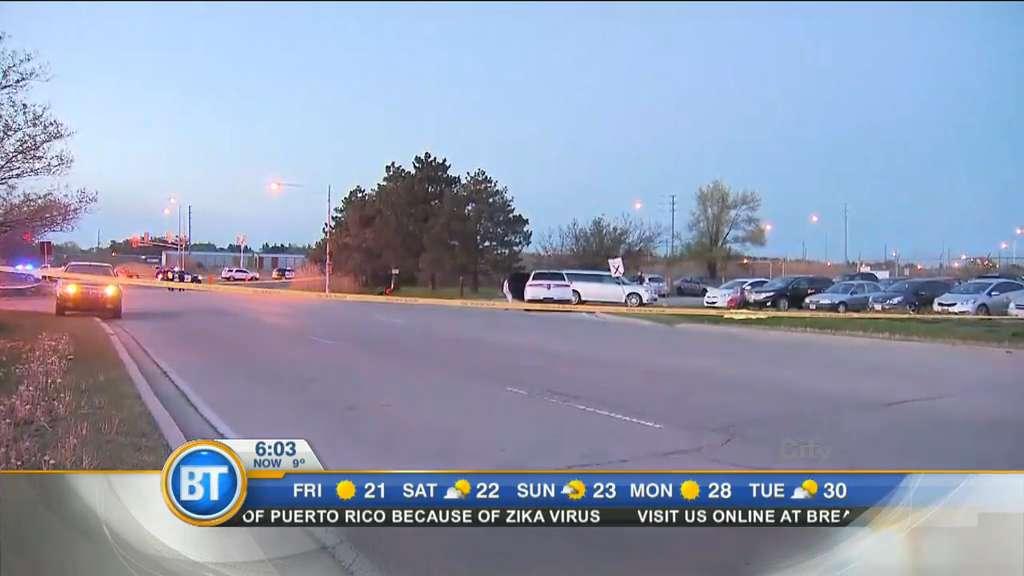 Video: Fatal motorcycle crash in Oakville, TTC service back up