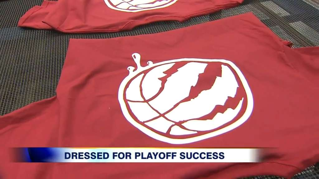 Video: Oakville company puts the 'T' in team for Raptors