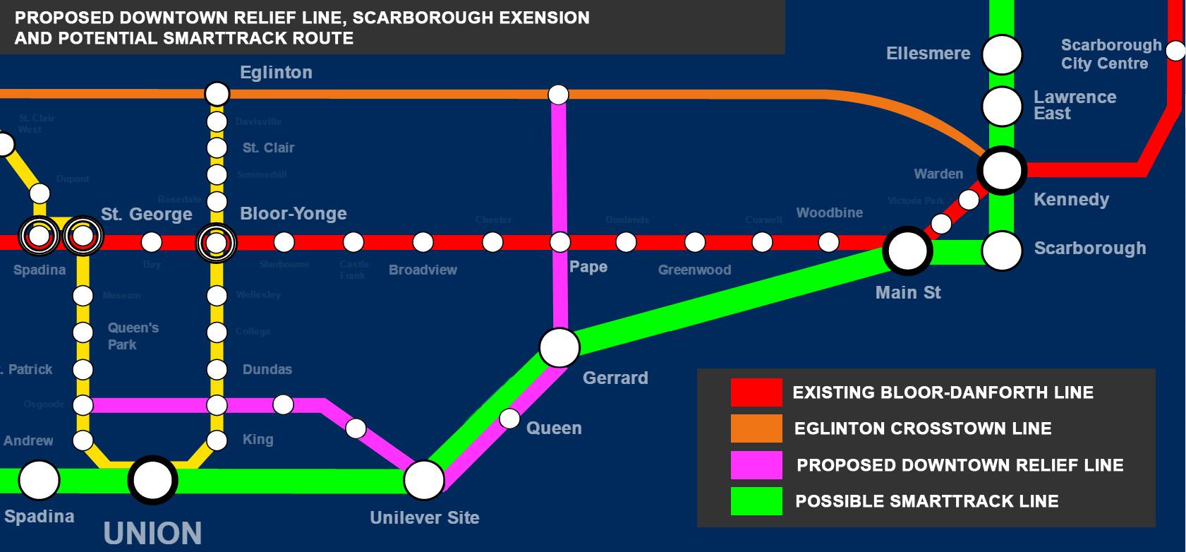 Ttc Subway Map Future.June 2016 Breakfast Television Toronto Page 12