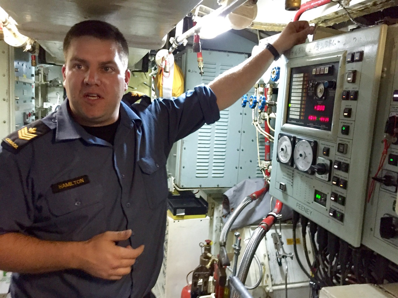diesel gets in your blood submariners a rare breed in canadian rh toronto citynews ca Technician Resume Examples Electrical Wiring Job Description