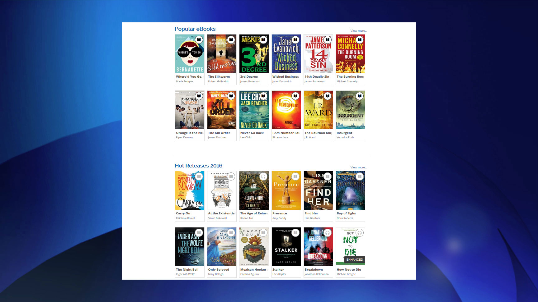 Not new, but did you know? Toronto library e-lends not just e-books