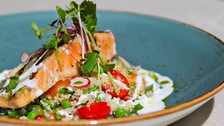 A salmon dish prepared by Bymark, one of the restaurants participating in Summerlicious 2016. CITY OF TORONTO