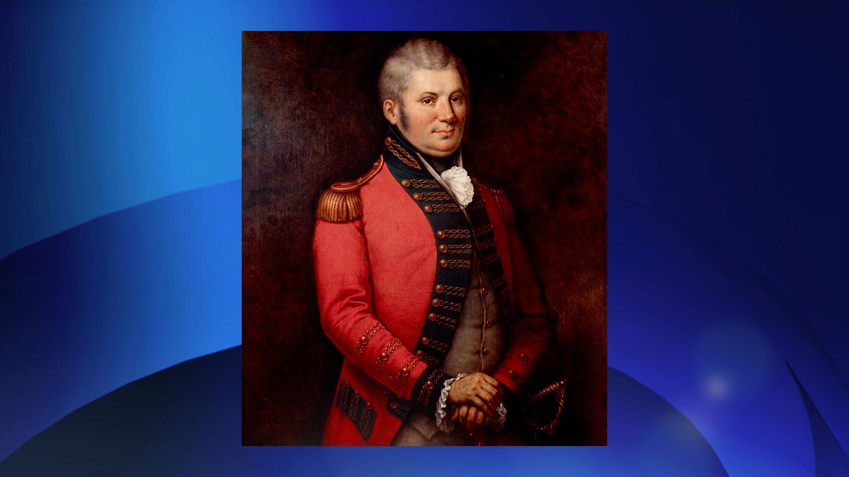John Graves Simcoe was the lieutenant-governor of Upper Canada (now Ontario) from 1791-96. Oil on canvas by George Theodore Berthon (ca. 1881). GOVERNMENT OF ONTARIO ARCHIVES