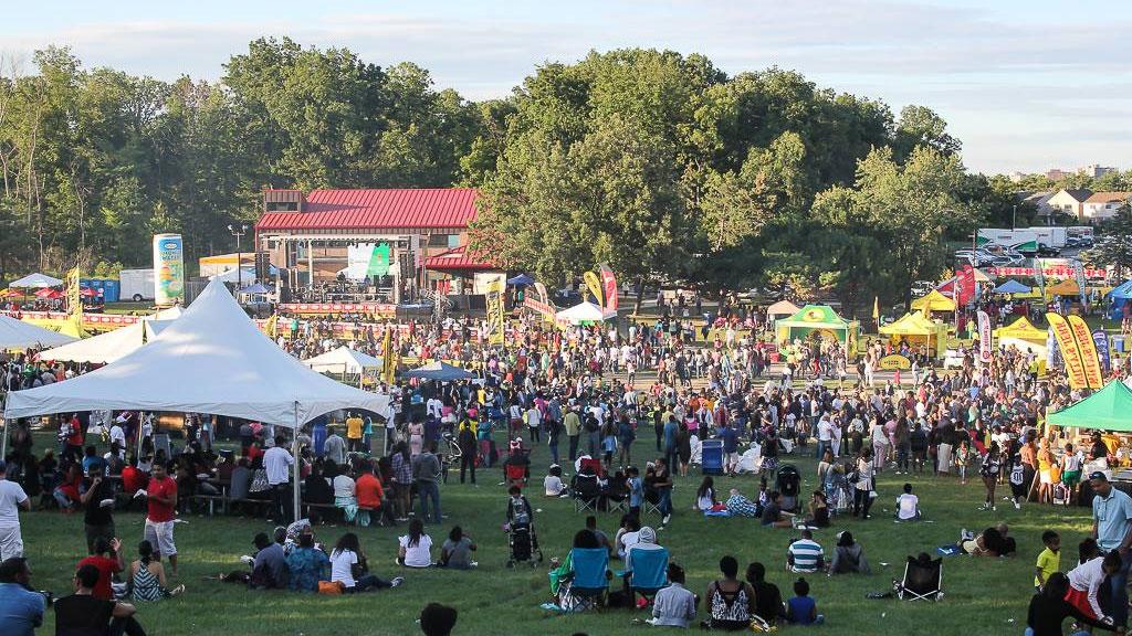 People gather at JerkFest in Toronto. Photo via Facebook/JerkFestCanada