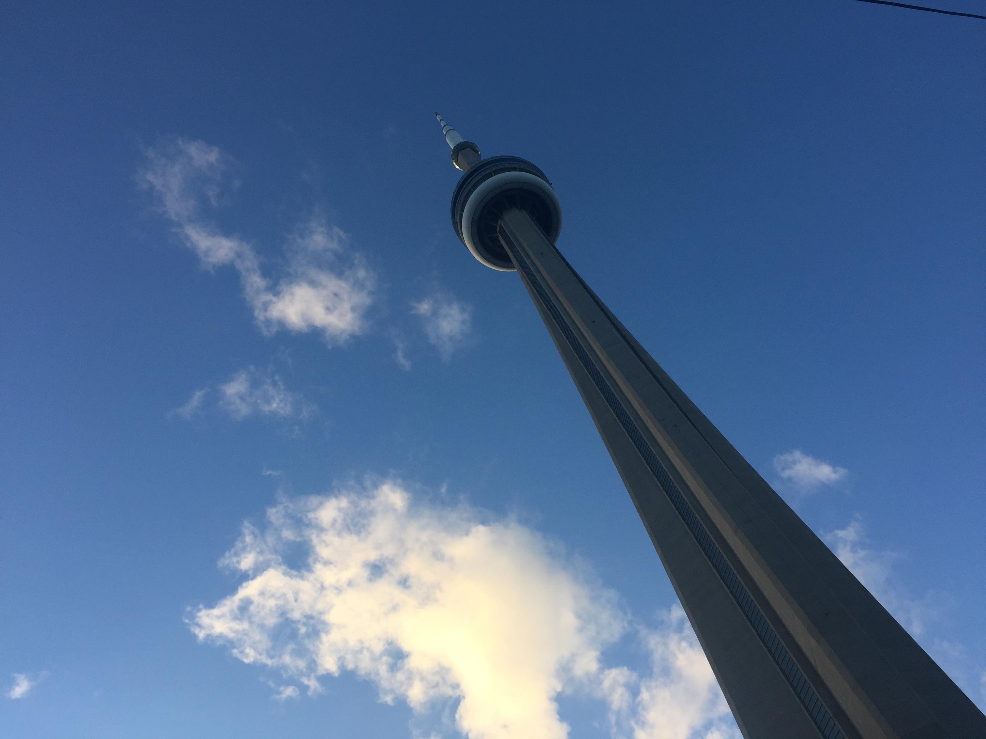 File photo of the CN Tower in Toronto. CITYNEWS/Diana Pereira