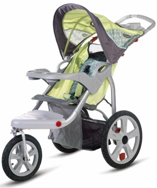 The Instep Safari Swivel Wheel Jogging Stroller (01AR180) is one of several models recalled by Health Canada.