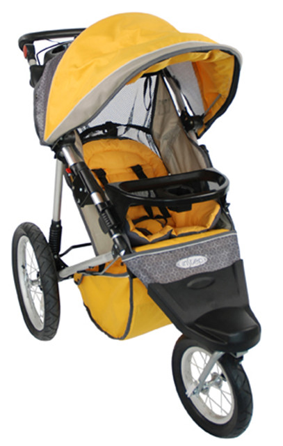 The Instep Free Wheeler Jogging Stroller (01SC701) is one of several models recalled by Health Canada.