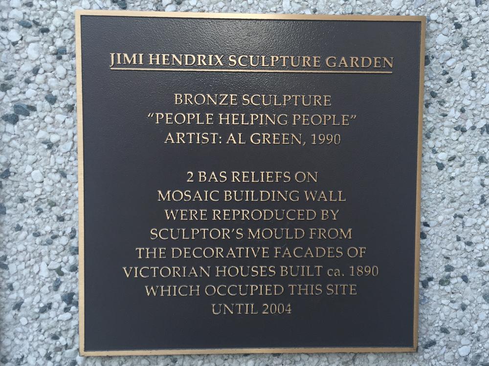 Jimi Hendrix Sculpture Garden in Toronto