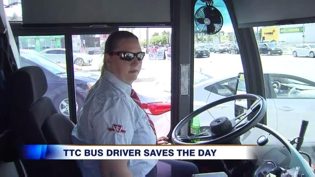 Video: TTC driver goes above-and-beyond to ensure students ...