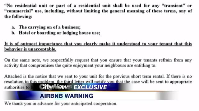 Video: Airbnb nightmare that could leave condo owners on the