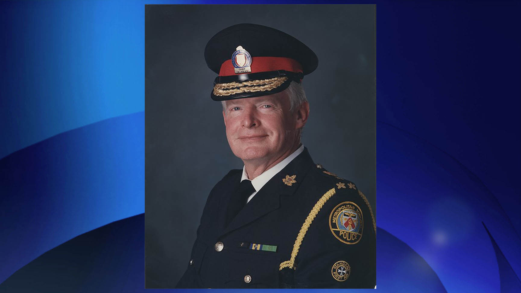 File photo of William 'Bill' McCormack. TORONTO POLICE