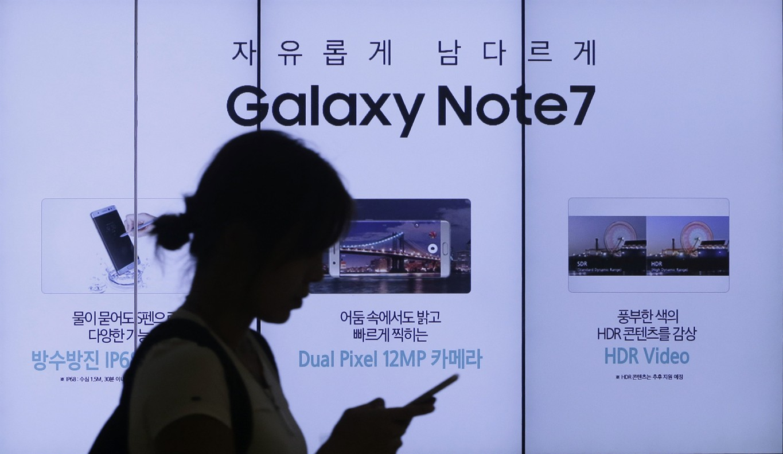 U S  regulators recall 1-million Samsung Note 7 phones