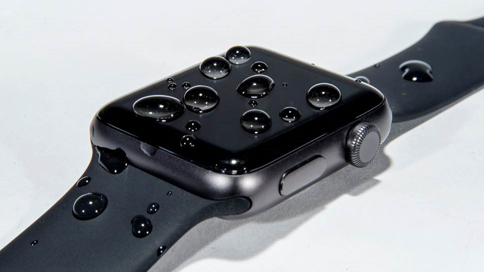 The Apple Watch Series 2 is water-resistant