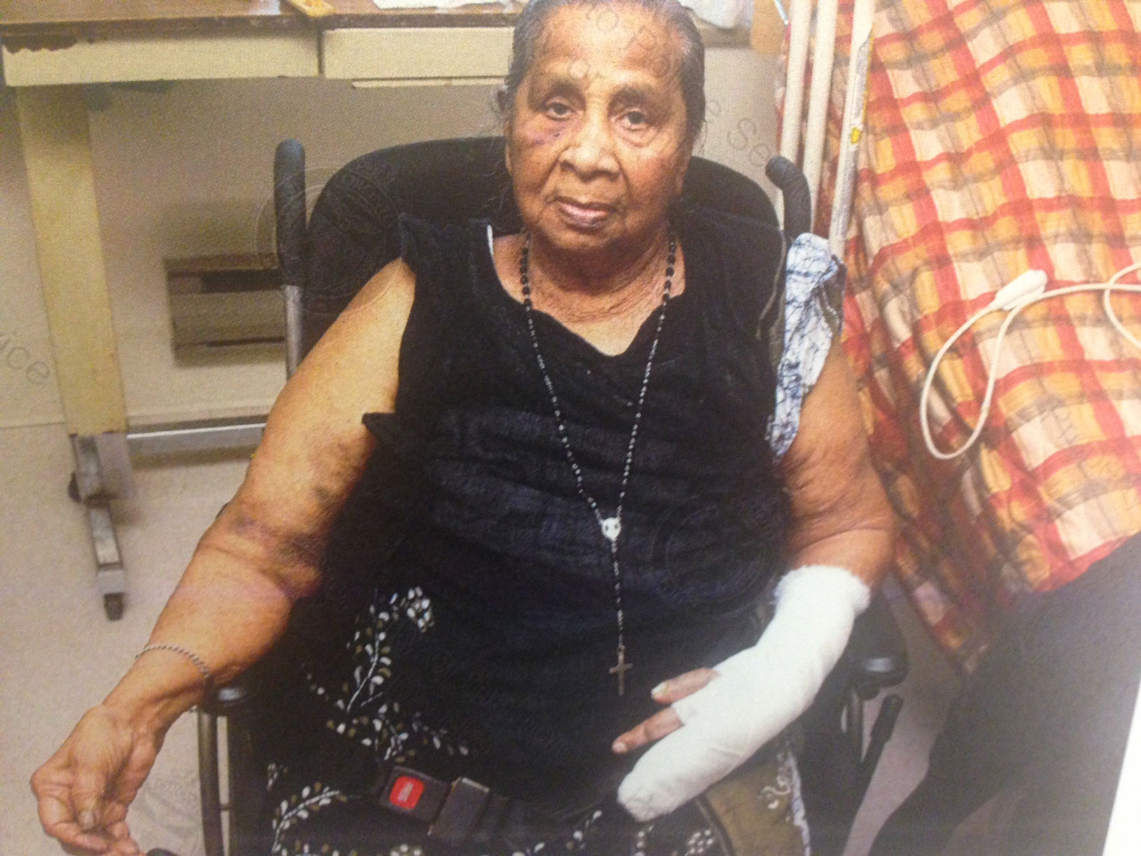 Lourdes Missier, 91, was allegedly attacked by a fellow resident at Wexford Residence in Toronto on March 13, 2013 (court documents).