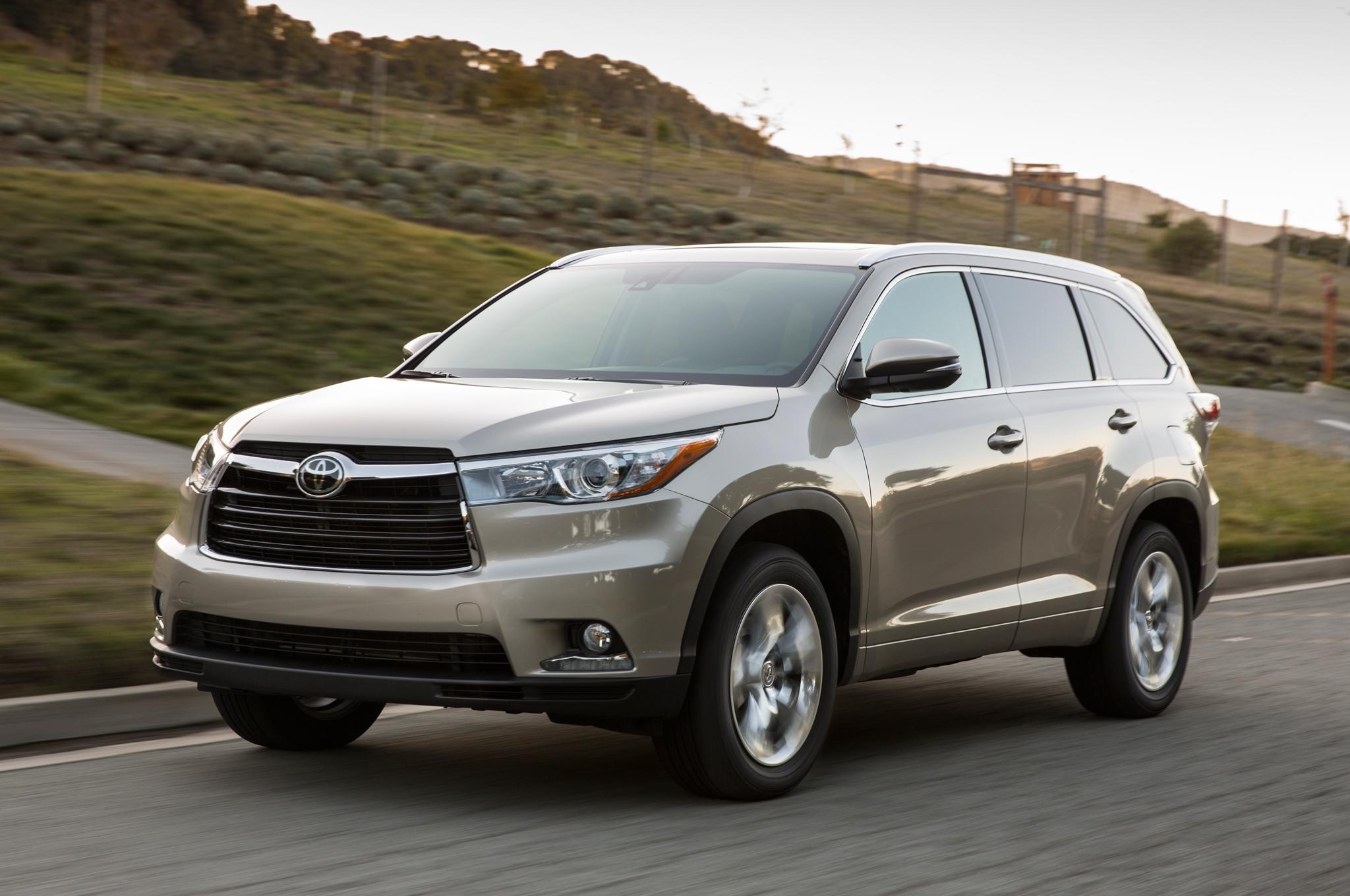 2016 Toyota Highlander recalled due to potential braking ...