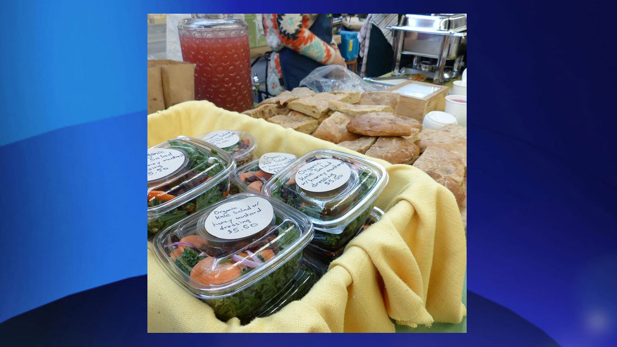 Food items for sale at EcoFair at the Barns. INSTAGRAM/ecofairatthebarns/