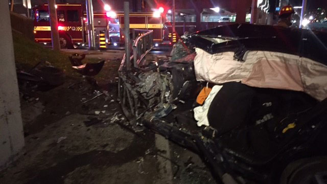 Driver has serious injuries in allen and yorkdale crash citynews driver has serious injuries in allen and yorkdale crash ccuart Images