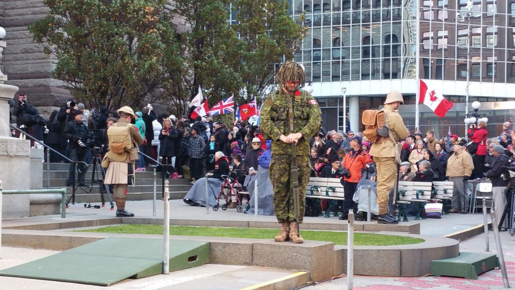 9aeb1f14d8f Lest we forget  Canadians honour war dead across the country