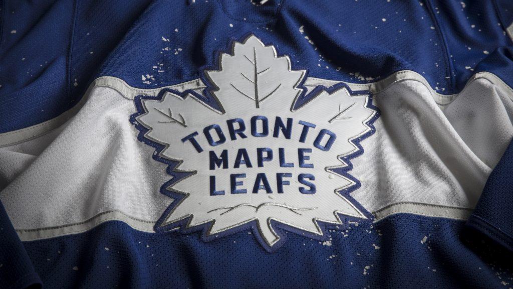 The Toronto Maple Leaf s NHL Centennial Classic sweater 59bcf34e1