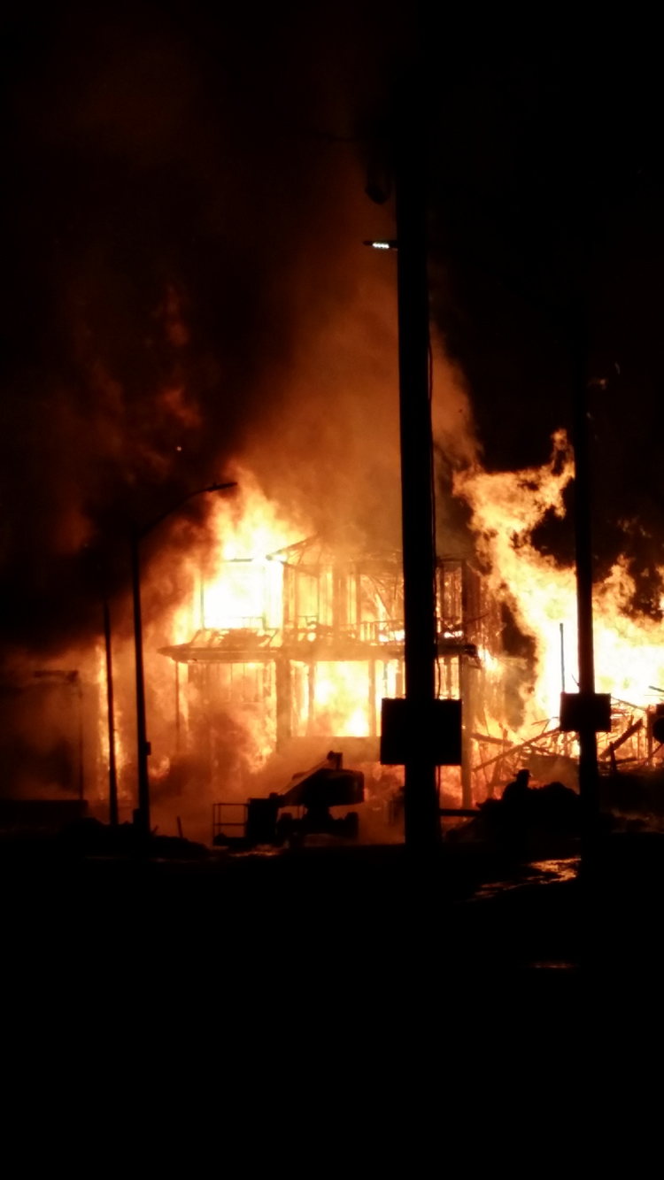 Fire guts five homes under construction in Bradford - CityNews