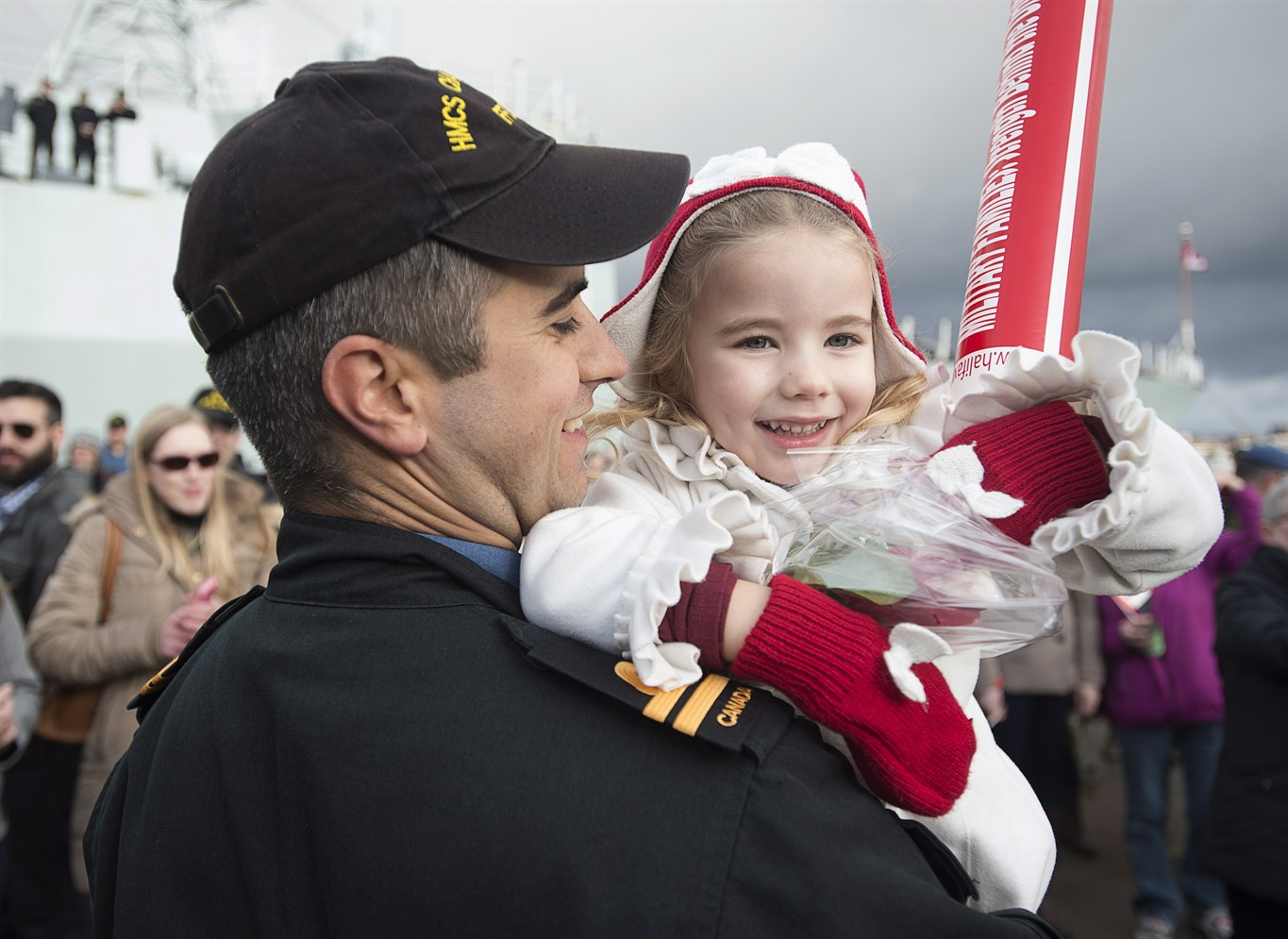 Canadian navy ship returns to port following six-month NATO