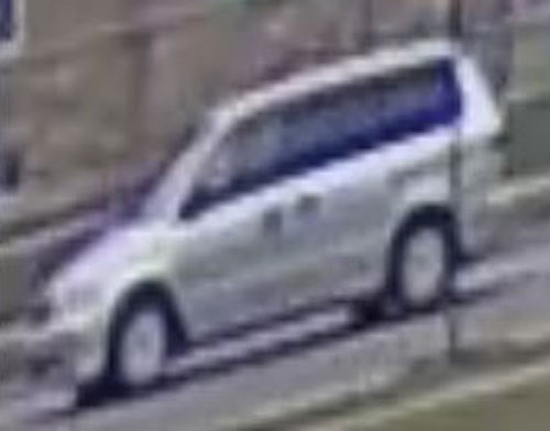 Peel police allege two men forced a female into this van in Mississauga on Jan. 15, 2017. HANDOUT/Peel Regional Police