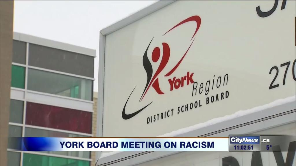 York Region School Board: Video: York Region District School Board Meeting On Racism