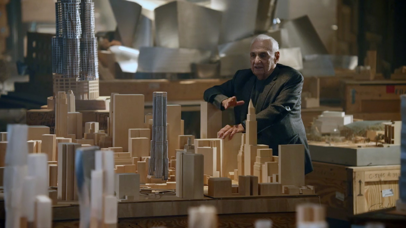 Renowned Canadian born architect Frank Gehry to teach online