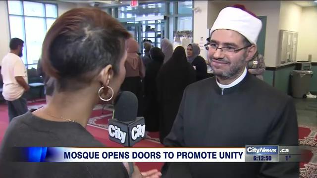 Video: Toronto mosque holds open house after anti-…