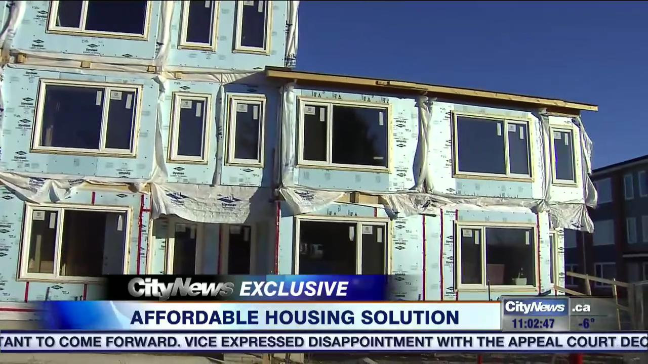 Video in toronto s red hot real estate market habitat for Cheap unconventional housing alternatives