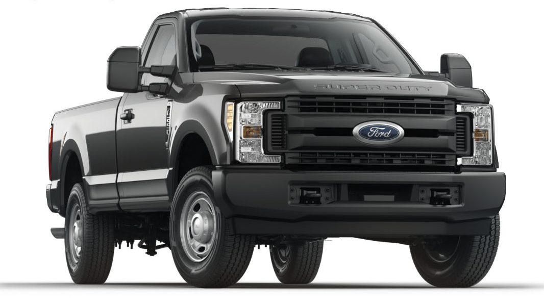 ford recalling 2017 f 250 trucks due to potential parking hazard. Black Bedroom Furniture Sets. Home Design Ideas