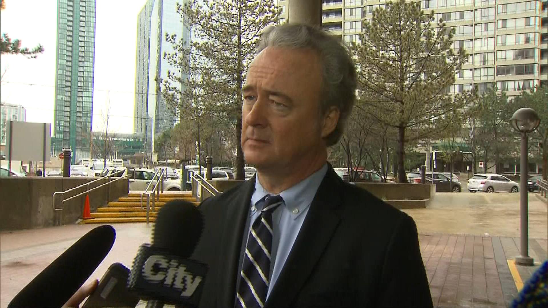 Warren Kinsella talks to CityNews in Toronto on April 25, 2017. CITYNEWS