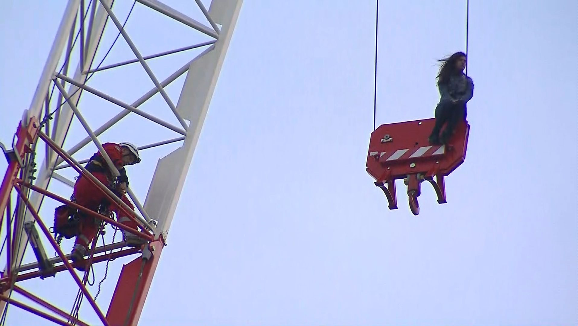 'Crane Girl' pleads guilty; to pay $100 victim surcharge