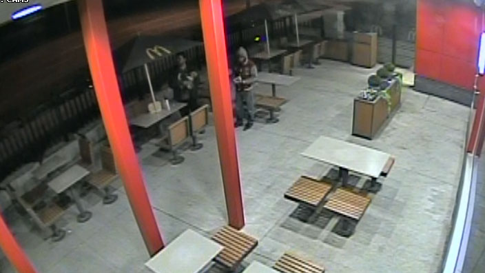 Man arrested after dog found badly wounded on Brampton McDonald's patio