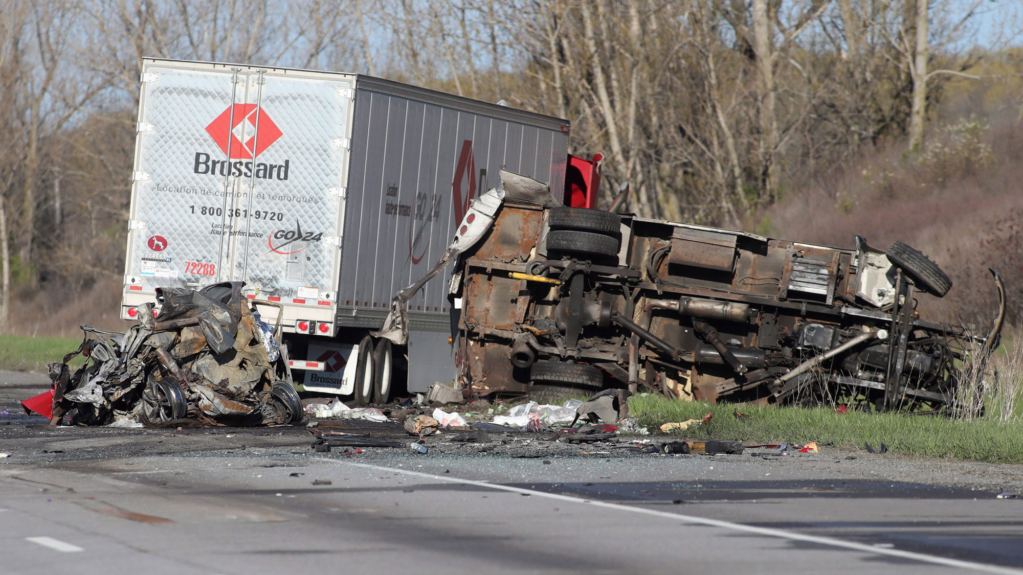 Fatal accident on 401 today kitchener