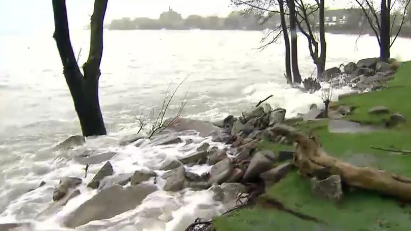 Toronto Island closed until further notice due to high water levels