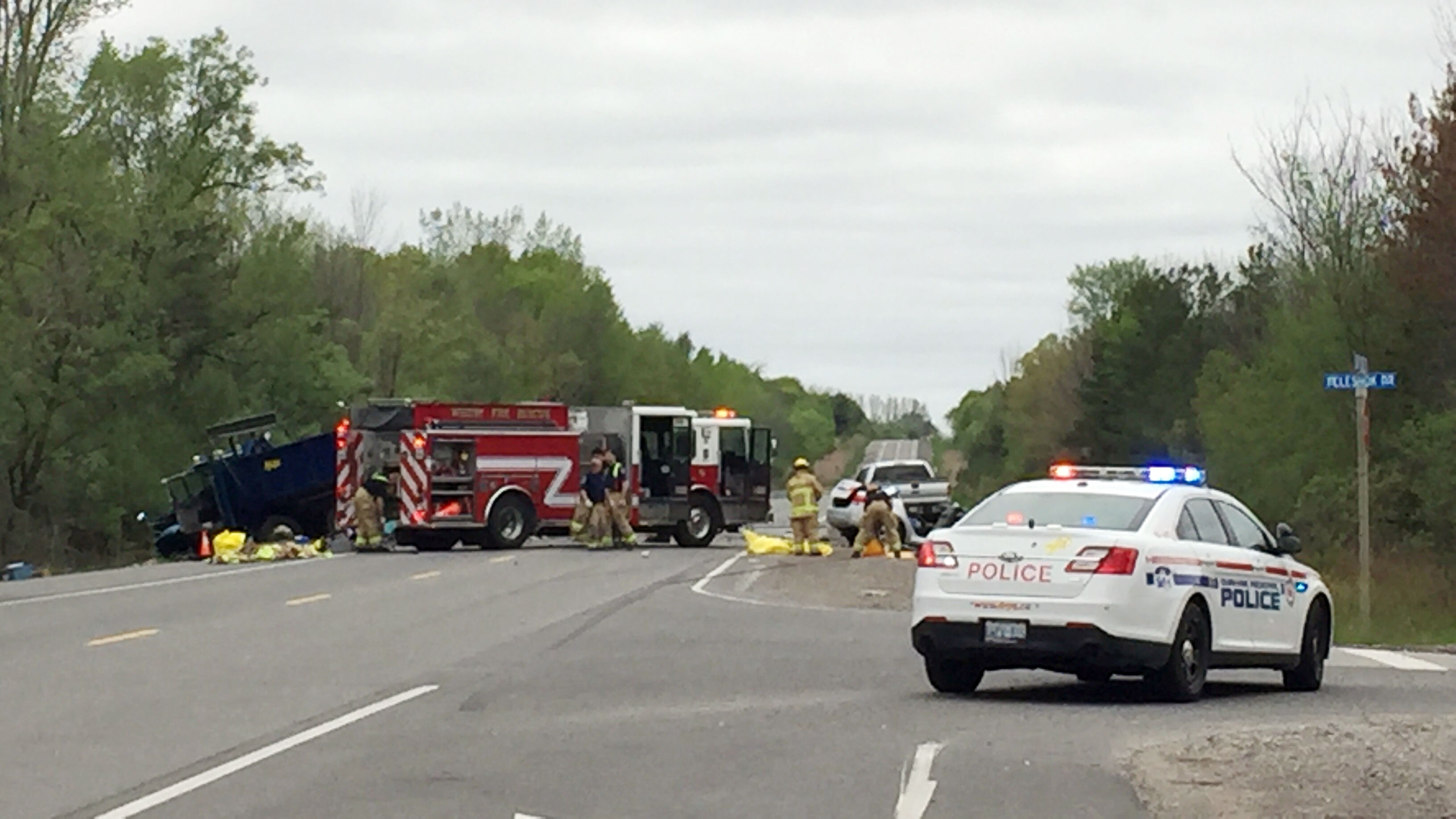 1 dead in dump truck crash in whitby citynews toronto