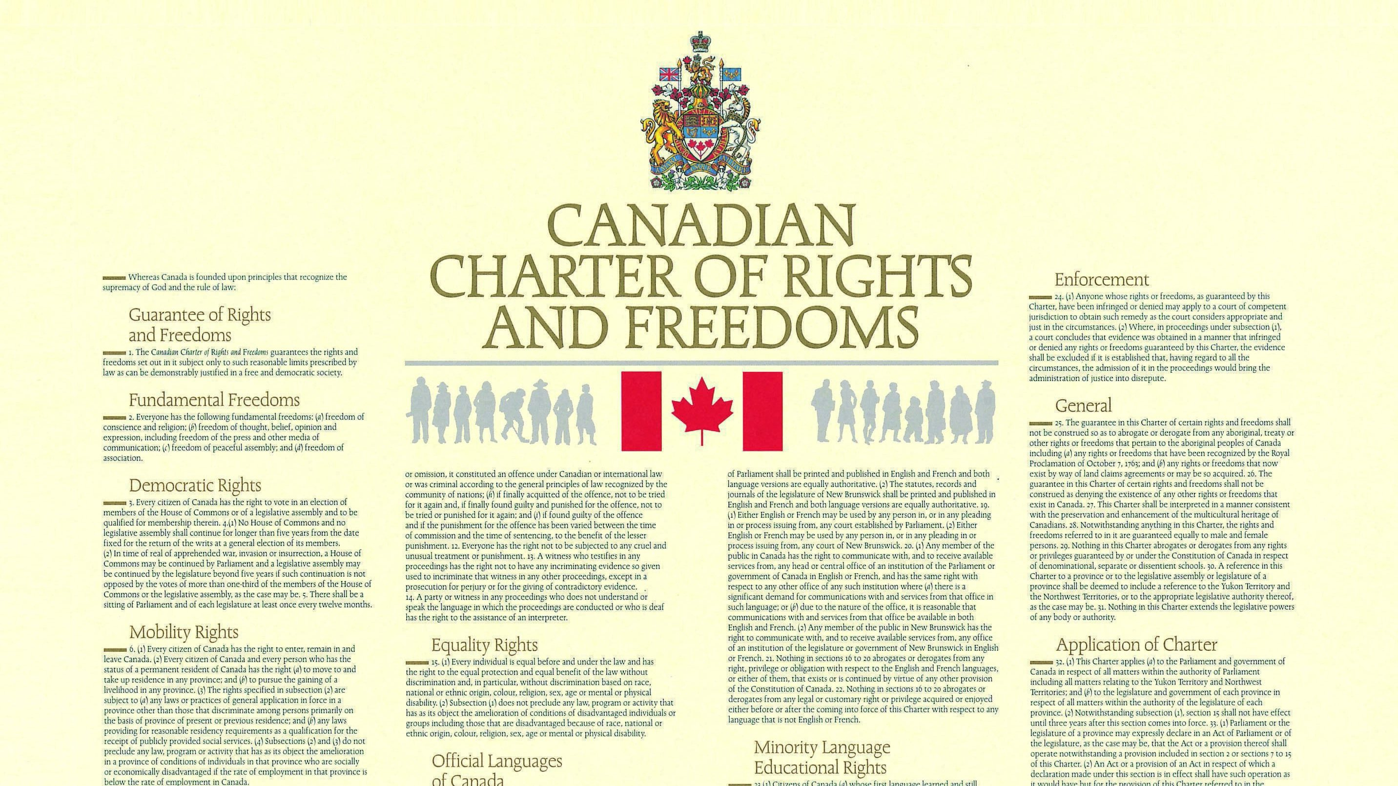 canadian charter of rights and freedoms section 7