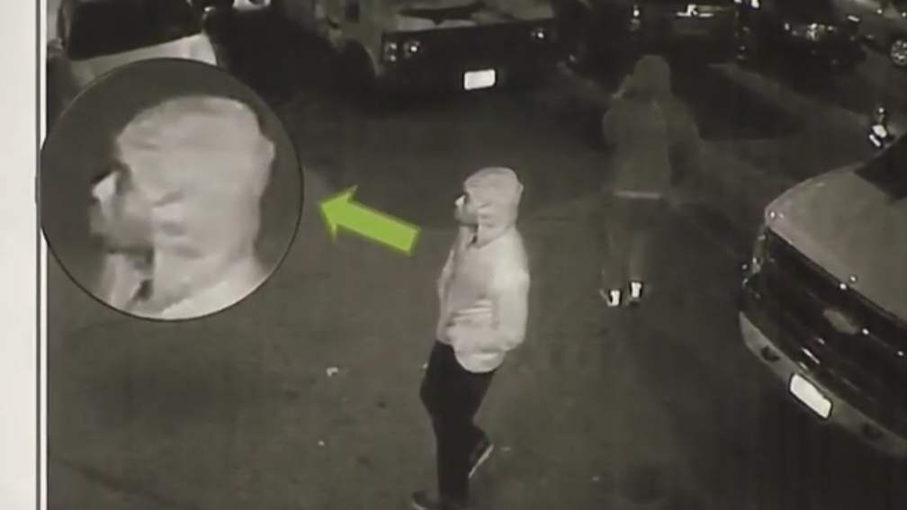 Enhanced video of suspect wanted in Leonard Pinnock shooting