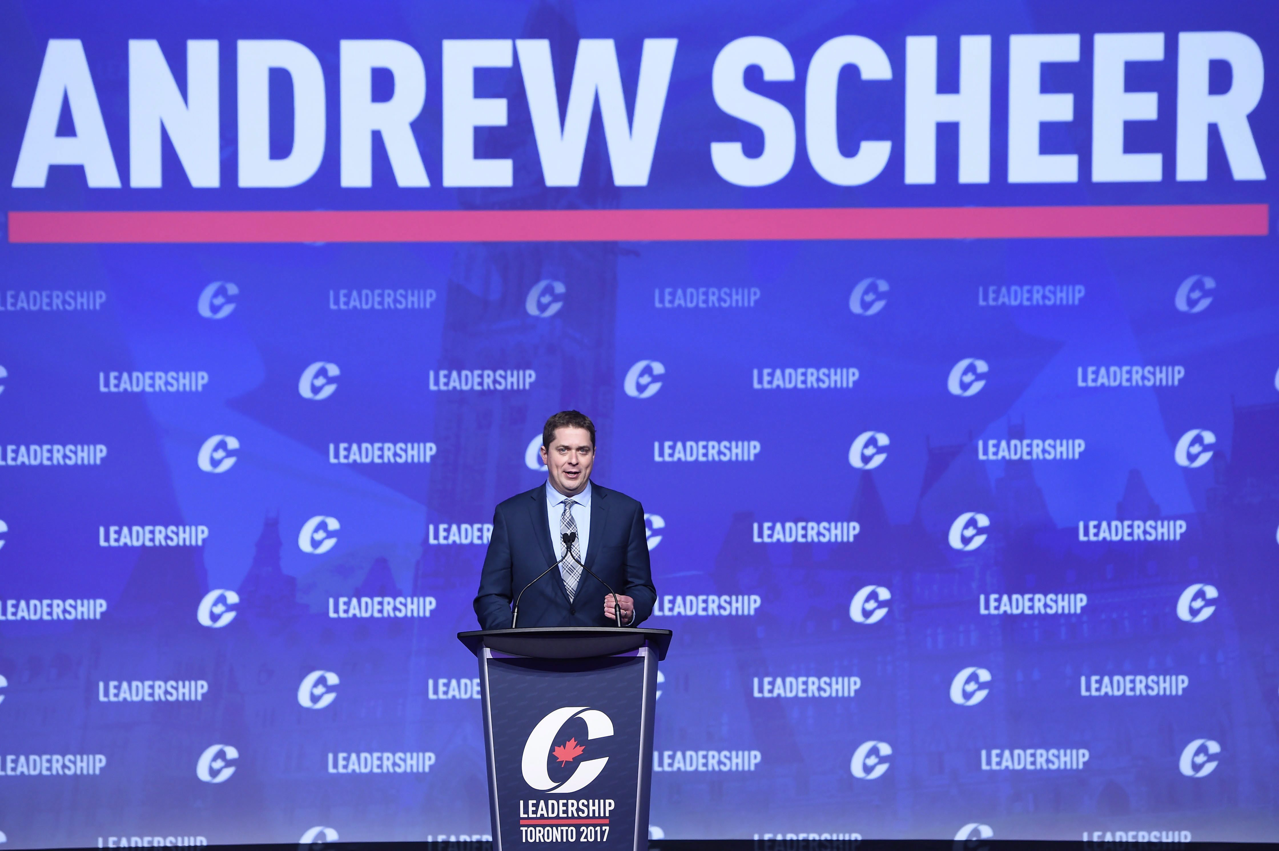 Canadian Conservatives select Andrew Scheer as successor to Stephen Harper