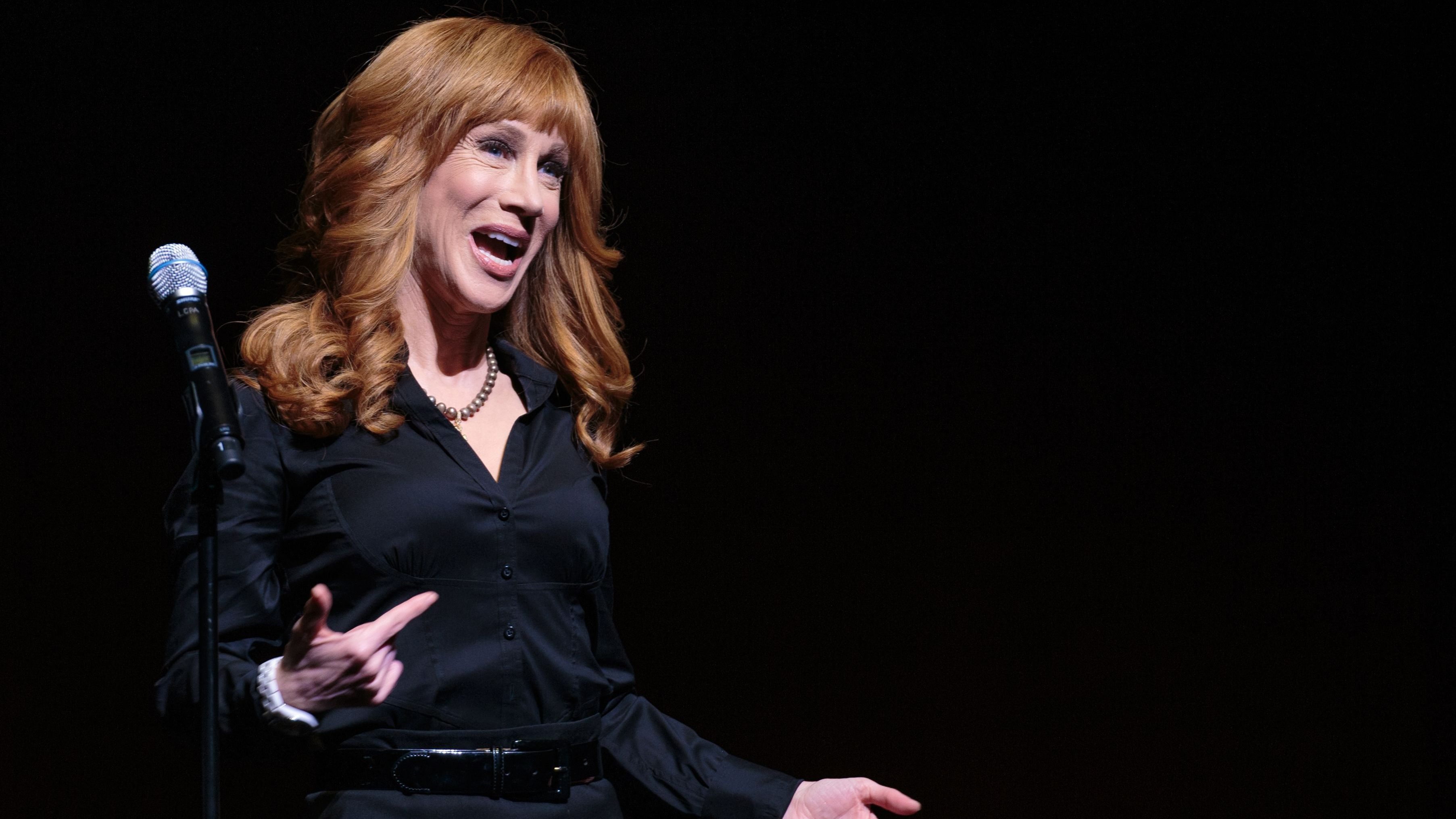Trump says Kathy Griffin 'should be ashamed of herself'