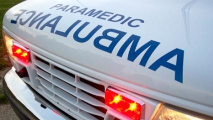 1 person critically injured after being struck by vehicle