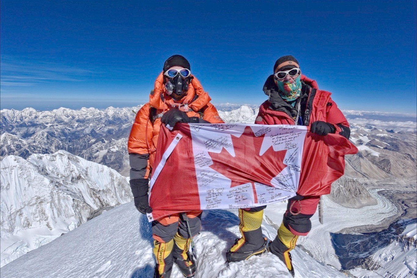 Former Alberta politician one of the oldest Canadians to summit