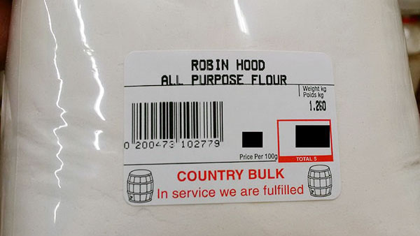 Industrial Size Bags Of Flour Now Part Of National Recall