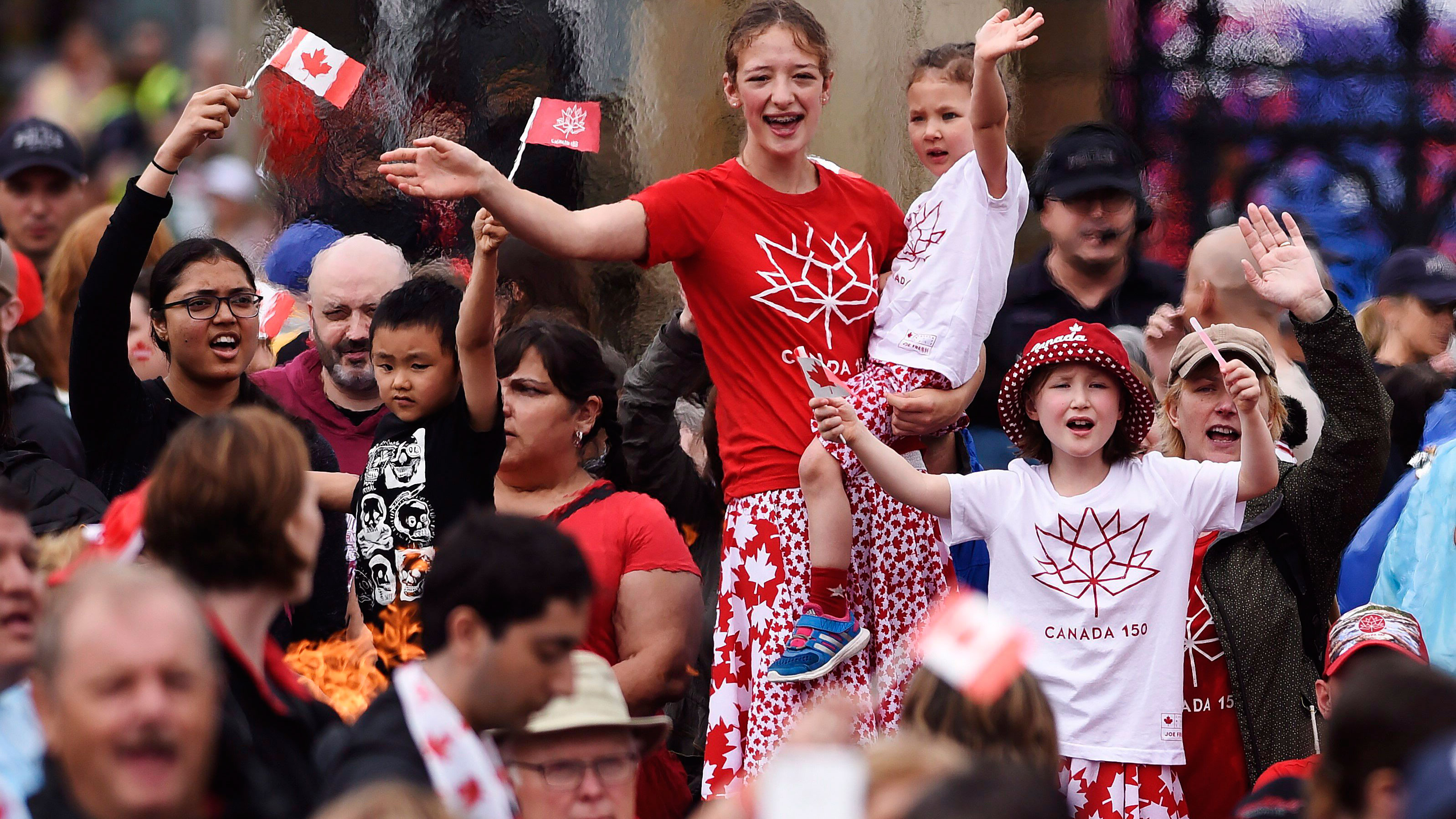 Find something to celebrate this Canada 150