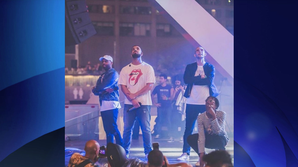 Drake Celebrates Canada Day by Surprising Fans in Toronto With a Performance